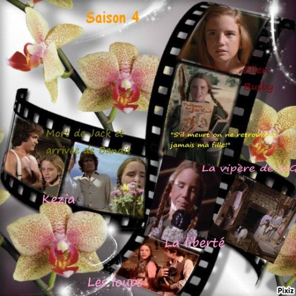 Mes moments préférés - concernant Laura -  suite : saison 4