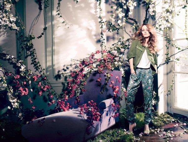 Vanessa Paradis et H&M