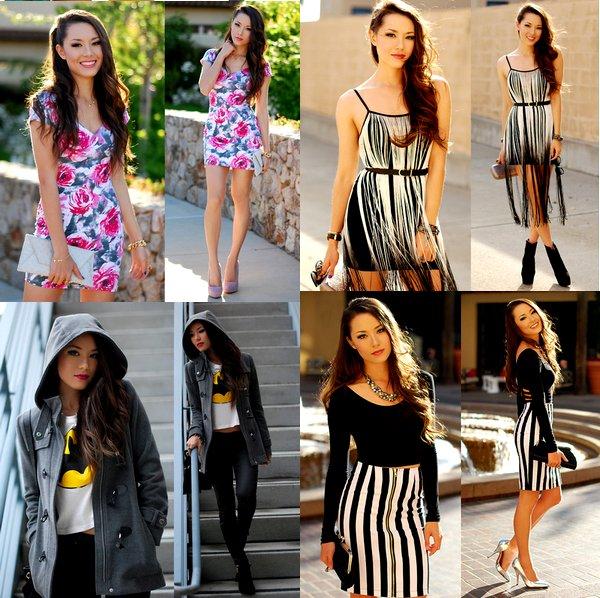 Zoom sur les tenues de Jessica R.