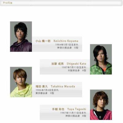 Messages des NEWS, de Ryo et de yamashita suite au départ des 2
