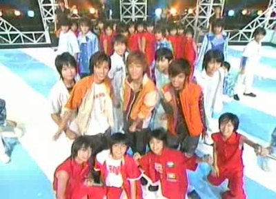 Music Station 29 aout 2003 - Johnnys junior