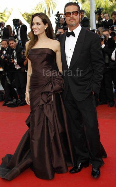 Angelina & Brad au Festival de Cannes 2011