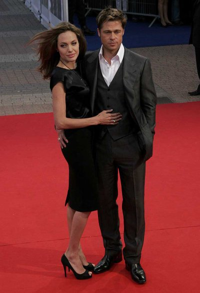 Angelina & Brad à Deauville