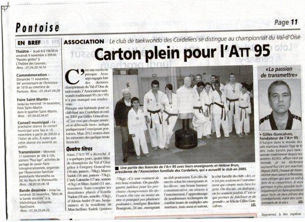 championnat du val d Oise 20/10/2012
