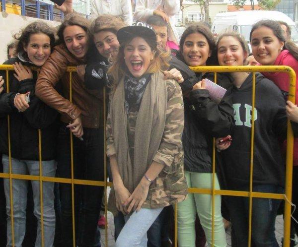 Martina et ses fans ♥