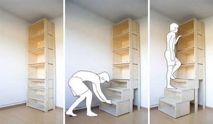 # tuto : une étagère astucieuse