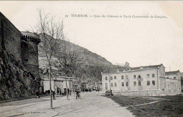 le quai farconnet et son école