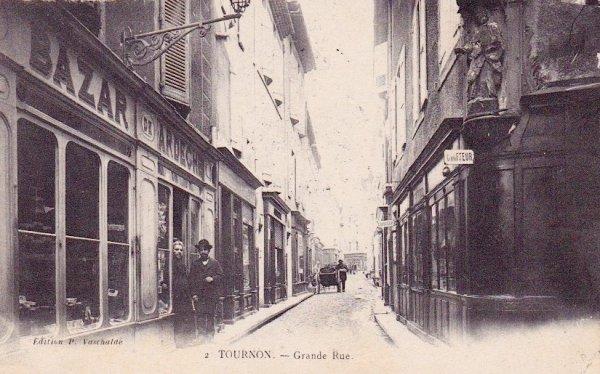 boutiques dans la grande rue