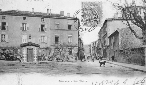 la rue Thiers