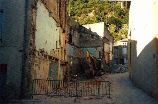 destruction des maisons anciennes rue lachanl