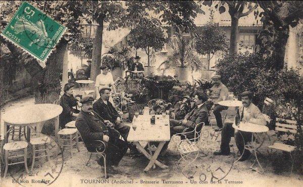 Café route de Lamastre