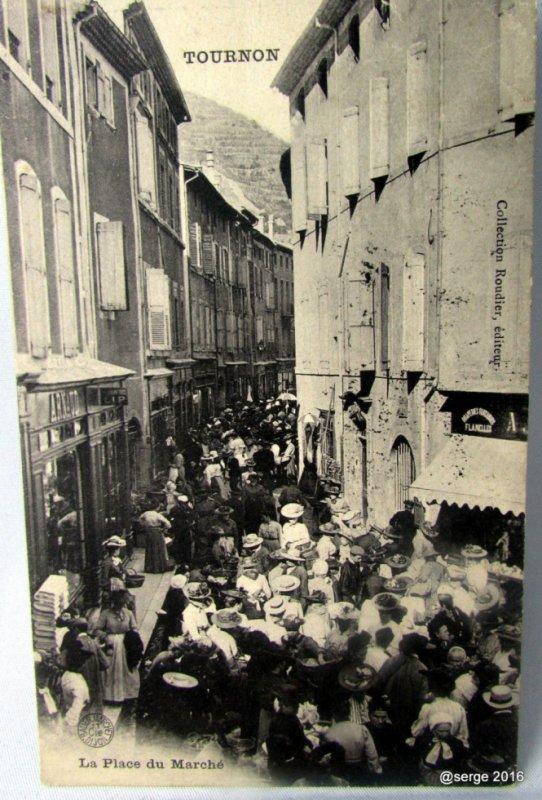 la grande rue une jour de marché