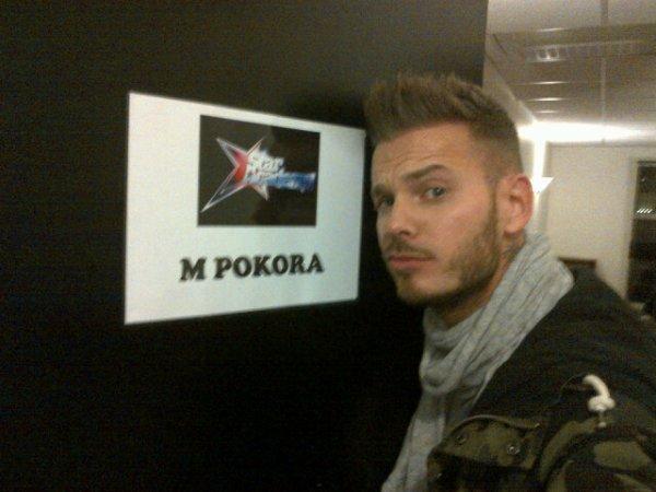 Matt dans les loges de la star ac :-)