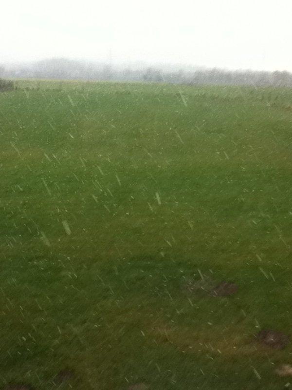 Il neige chez MOI !!!!!