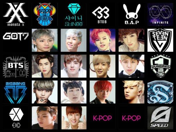 tou les leader kpop