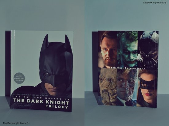 The Dark Knight Rises - Le Livre ♥