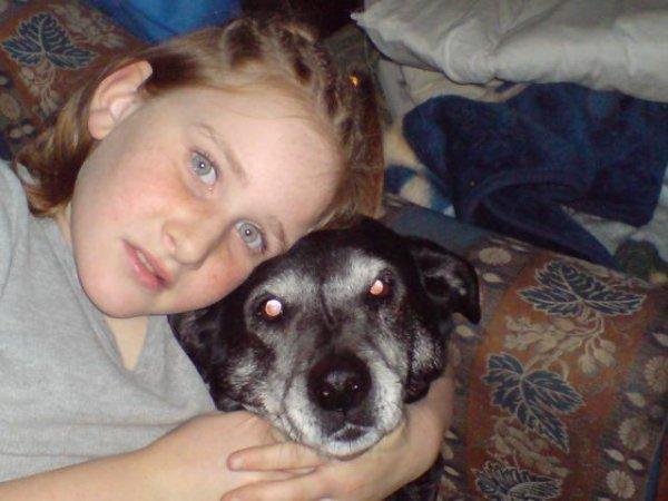 ma chienne et moi