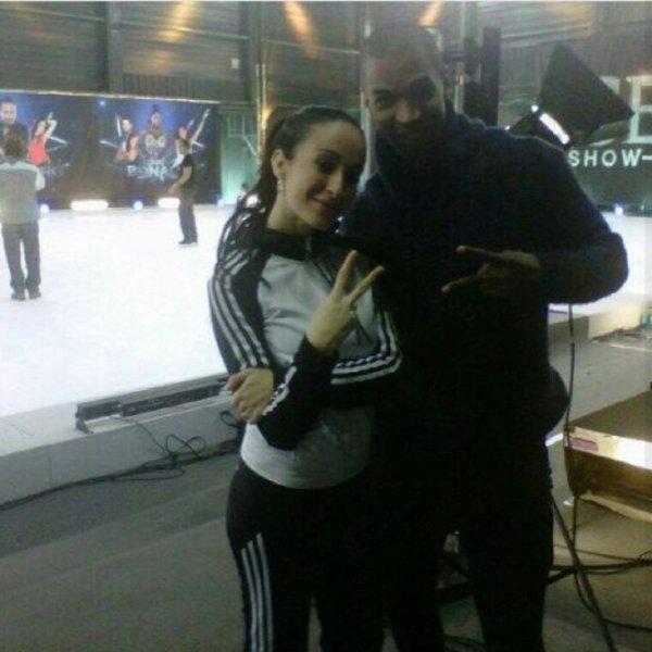 Kenza Farah a Ice Show