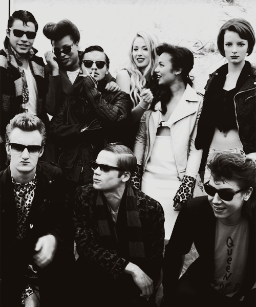 Skins and The vampire diaries gif