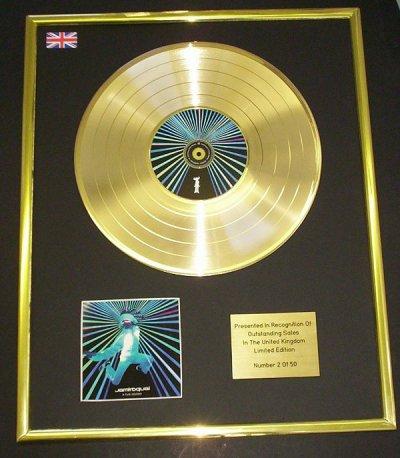 disque d'or  jamiroquai