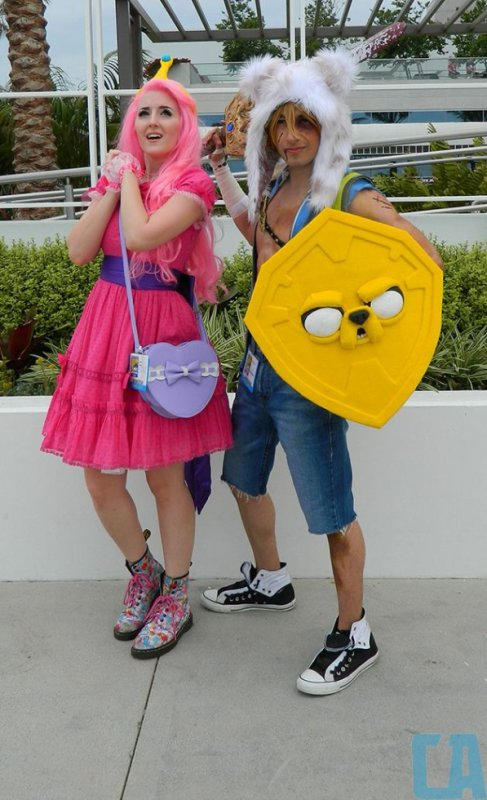 Cosplays Adventure Time