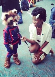Cosplay Rocket Raccoon