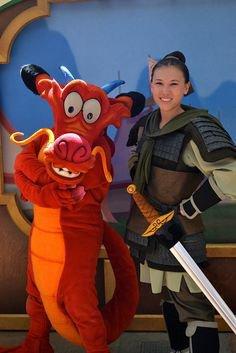Cosplay Mouchou et Mulan