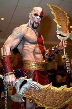 Cosplay God Of War
