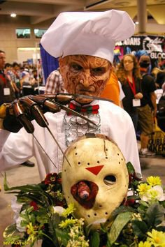 Cosplay Freddy et Jason