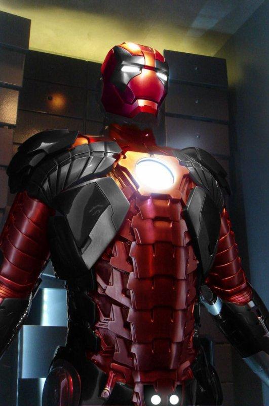 Cosplay Iron Man en Deadpool