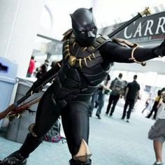 Cosplay Black Panther