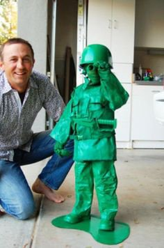 Cosplay d'un militaire de Toys Story