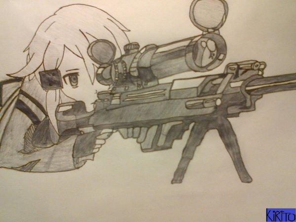 Sword art Online / Sinon Sniper