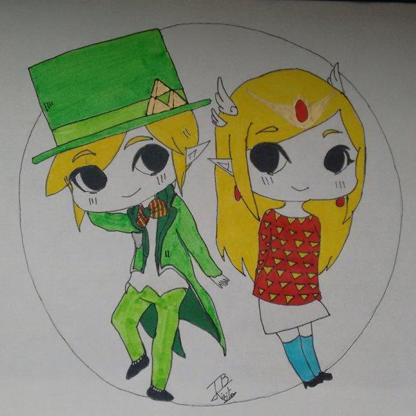 Link et sa Princesse  :)