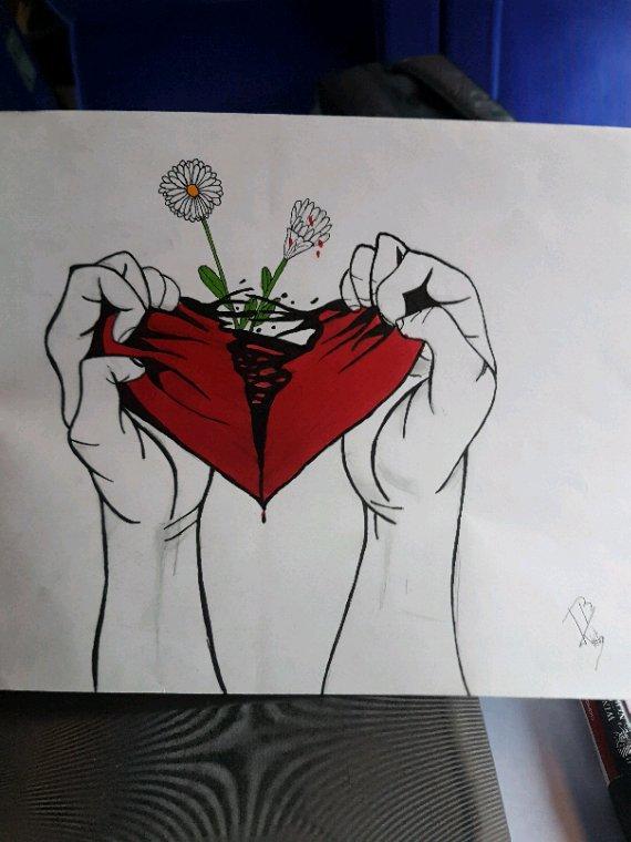 Peine de coeur