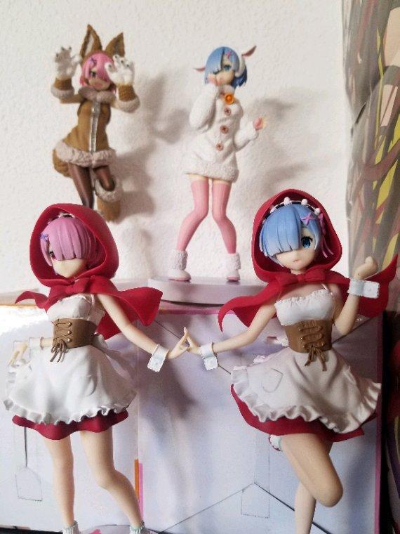 Re zero Figurine Ram et Rem