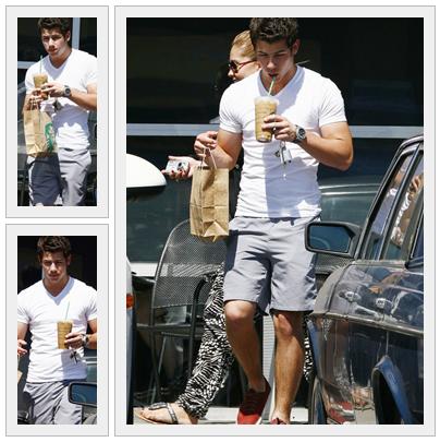 * Une tenue d'été idéale (Nick Jonas) *
