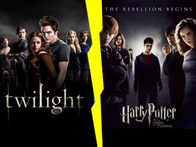 Duel de star, série ou film: Twilight VS Harry Potter