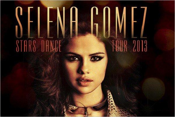 Une tournée mondiale et en solo pour Selena qui debutera en aout. De plus vous pouvez pré-commander l'album « Stars Dance »  acheter le single « Slow Down » sur itunes.