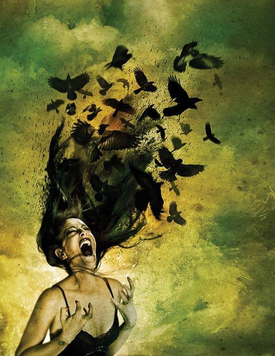 La colère blesse parfois ou peut envenimer les choses.....(Moi)