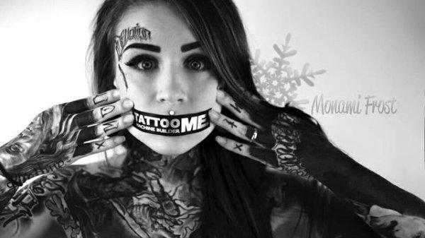 Mon coeur est tatoué à l'encre de ton coeur....