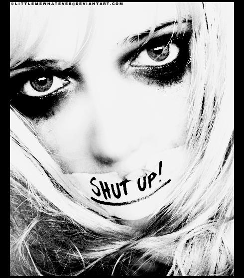 «Le silence me fait peur… Il me donne trop de temps pour penser…»