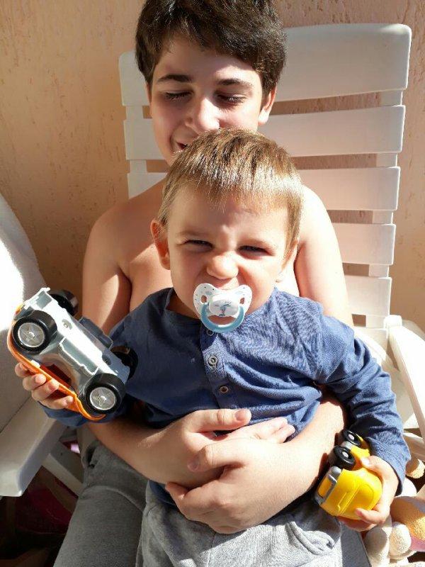Mes deux fils ^^