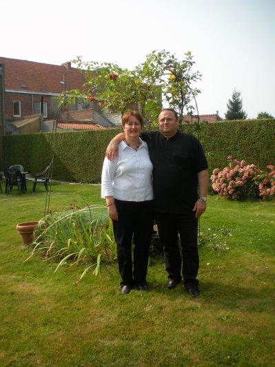 Nous nous sommes mariés le 20/08/1988 à Gilly
