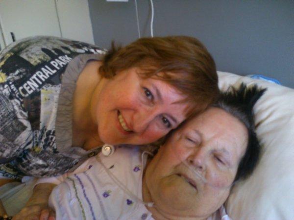 Décès de Maman le samedi 18 mai 2013