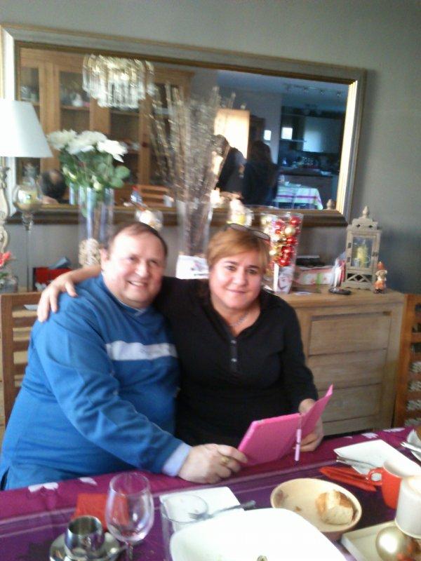 Noël 2013 chez le frère de mon mari