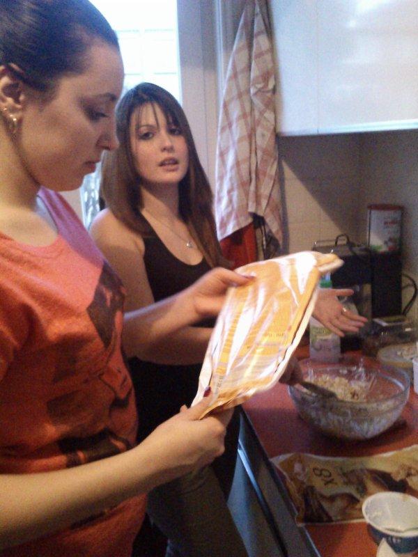 Allez Sarah et Florence on compte sur vous pour nous préparer un délice marocain miam