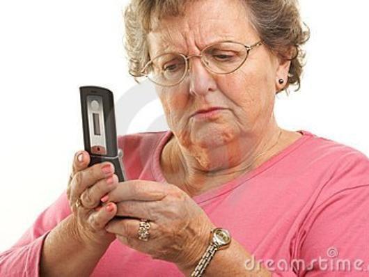 Codes sms pour séniors