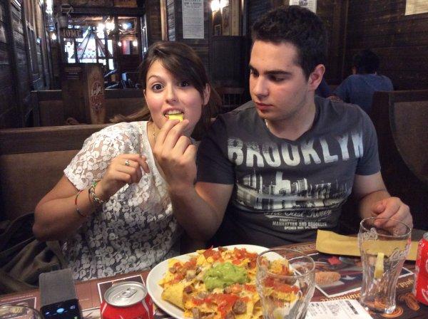 Restaurant Steak house avec Domenico et ma fille le samedi 26/07/2014