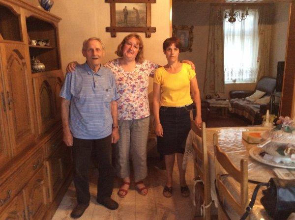 Visite à Nonno le dimanche 03 août 2014